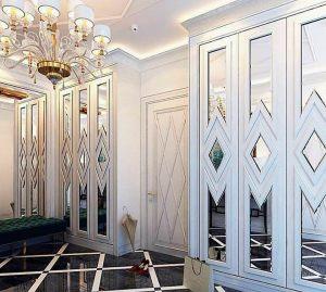 Двери с делителем наклейкой Азов