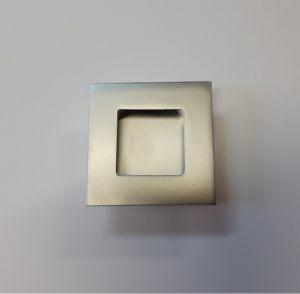 Ручка квадратная Серебро матовое Азов