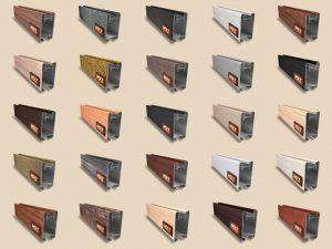 """Алюминиевый ламинированный профиль """"HOLZ"""" для шкафов купе и межкомнатных перегородок Более 100 цветов Азов"""