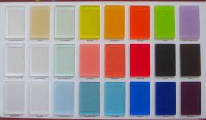 Акриловое стекло матовое для радиусных шкафов-купе и радиусных межкомнатных перегородок Азов
