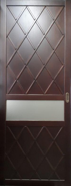 Вставка в дверь с фигурной филенкой Азов