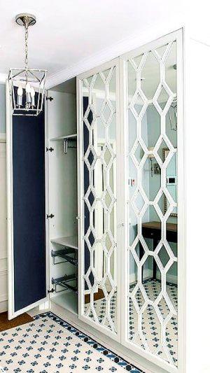 Двери с фигурной филенкой, эмаль Азов