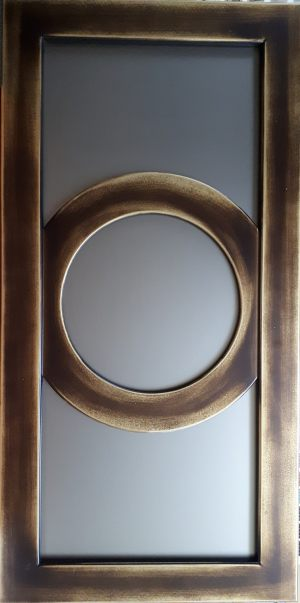 Рамочный фасад с радиусными элементами 4 категории сложности Азов